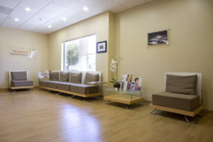 Oral Surgery Office Waiting Room
