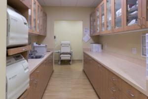 Oral Surgery Sterilization Area