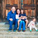 Dr. Dmitry Tsvetov family portrait
