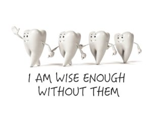 I Am Wise Enough Without Them - Caricature Banner