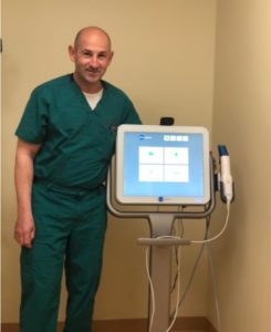 Dr. Tsvetov with Itero Digital Scanner