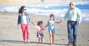 Dr. Tsvetov and Family at the Beach - 3