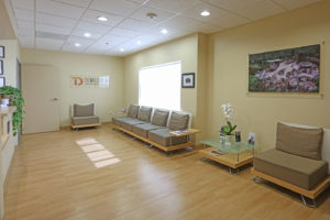 Full Shot of Oral Surgery Office Waiting Room