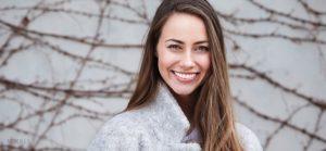 Female Model for Wisdom Teeth