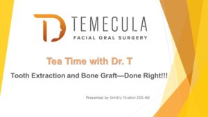 Tooth Extraction with Bone Graft